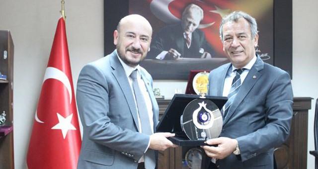 TOBB Yönetim Kurulu Üyesi ve Aydın TO Yönetim Kurulu Başkanı Hakan Ülken MİTSO'da