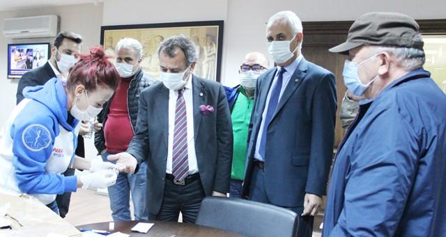 MİTSO'da meclis üyelerinin corona testleri temiz çıktı