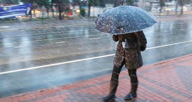 Soğuk hava ve yağmur geliyor