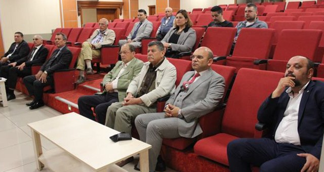 Zeytinyağı fabrikacıları MİTSO'da toplandı