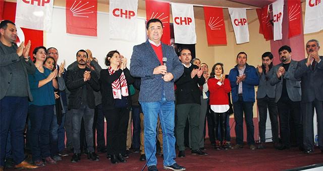 CHP'liler Selimiye'de gövde gösterisi yaptı