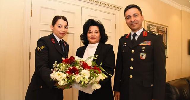 Jandarma Teşkilatından Vali Civelek'e 180. Yıl Ziyareti