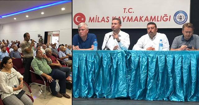 AKP Milas'tan Muhtarlarla İstişare Toplantısı