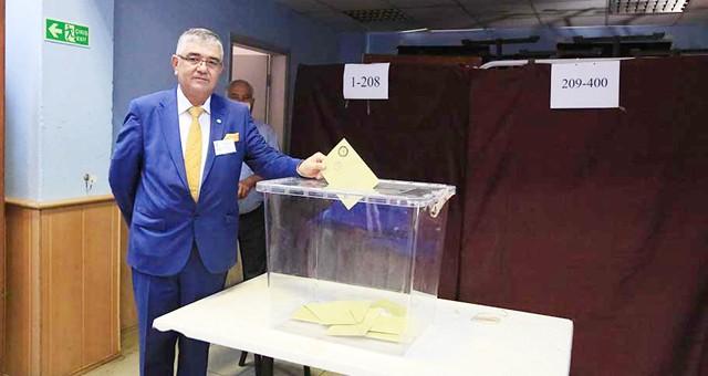 İYİ Parti İlçe Başkanı Kasım Özkan oldu