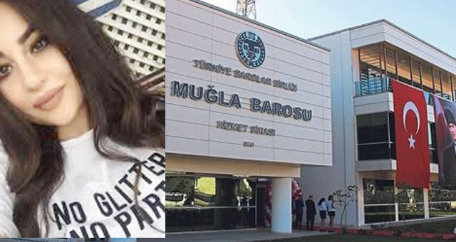 Muğla Barosu'ndan kadın cinayeti tepkisi..