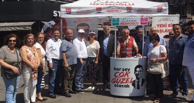 Başkan Tokat destek için İstanbul'da…
