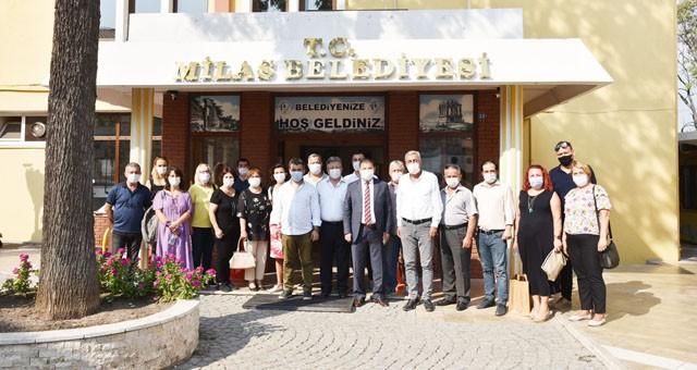CHP Yatağan İlçe Örgütü'ndenBaşkan Tokat'a ziyaret