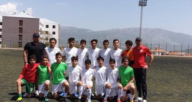 U14 ligi Muğla temsilcileri sahaya çıkıyorlar