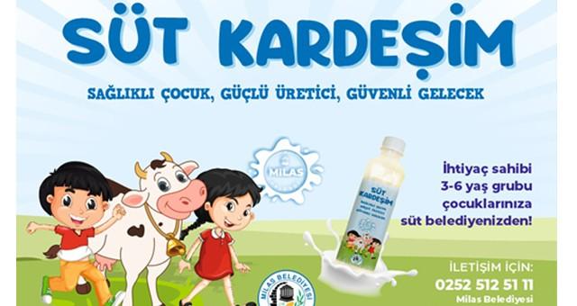 Milas Belediyesi'nden iki güzel kampanya