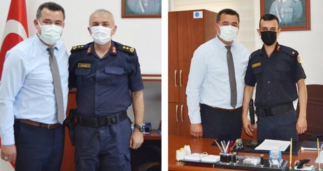 İlçe Jandarma Komutanı Yarbay Hayrettin Fidan Afganistan'dan döndü..