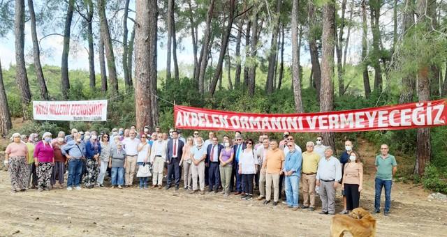 TMMOB yönetiminden Akbelen Ormanı nöbetine destek ziyareti