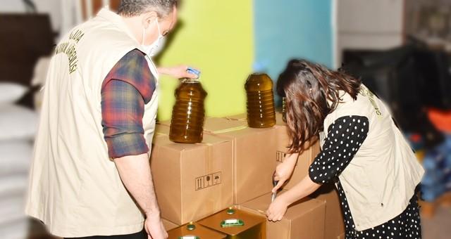 Gıda denetiminde 780 litre etiketsiz yağa el konuldu…