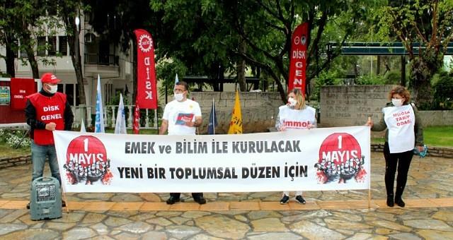 KESK, DİSK, TMMOB, TTB'den  ortak 1 Mayıs açıklaması: