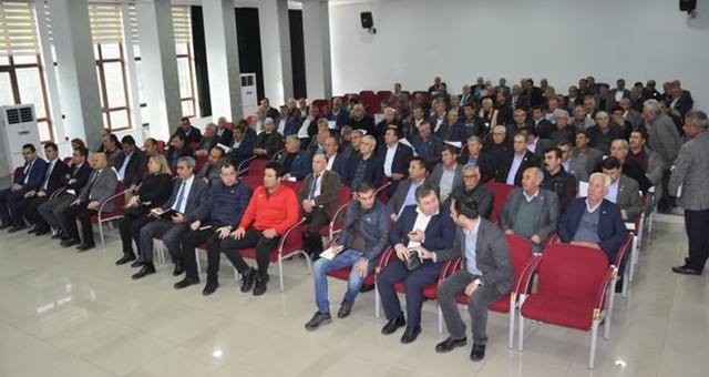 Şubat ayı muhtarlar toplantısı yapıldı…