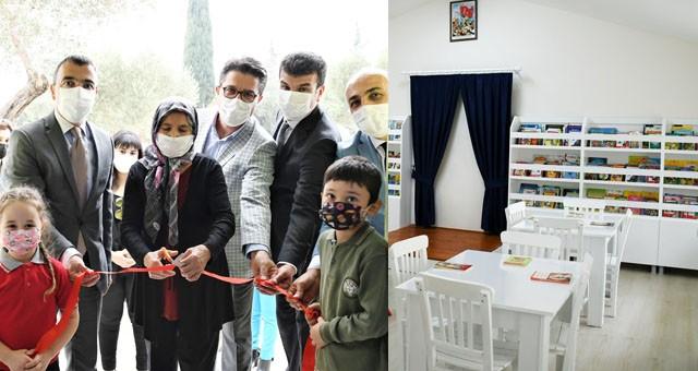Kütüphane açılışı gerçekleştirildi