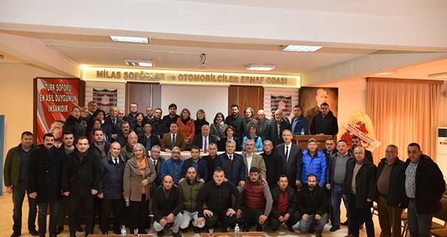 Başkan Tokat ve ekibi ziyaretlerini sürdürüyor
