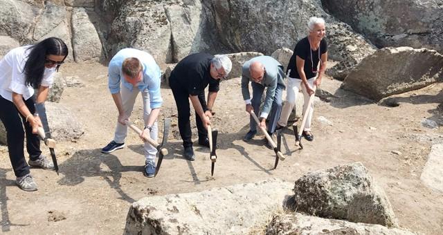 Herakleia Antik Kenti'nderestorasyon çalışmaları başlıyor