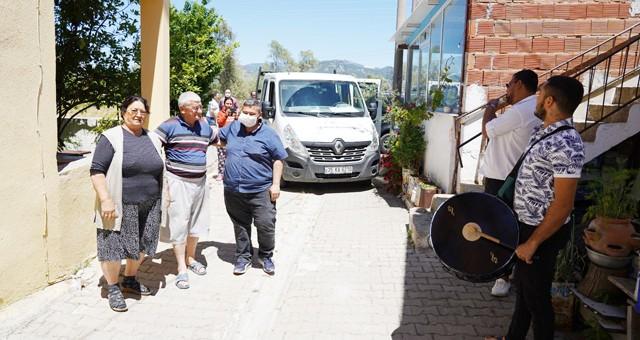Milas Belediyesi bayramda vatandaşlarını yalnız bırakmadı