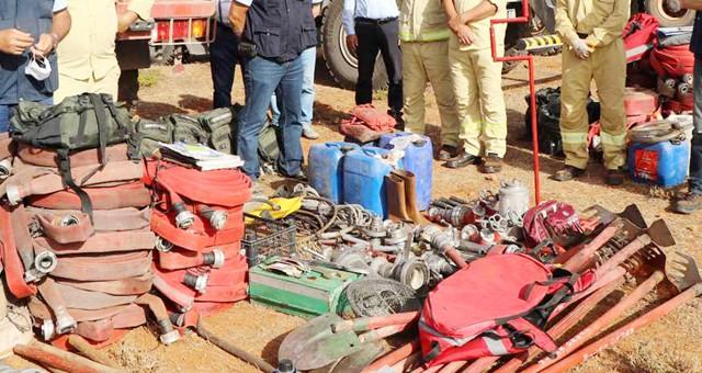 Personele koruyucu güvenlik malzemesi ve orman yangınlarında kullanılan malzemeler alınacaktır