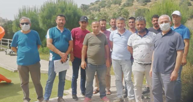 Kömürcüoğlu Grubu'na bağlı Çınartaş Endüstri'de direniş başladı