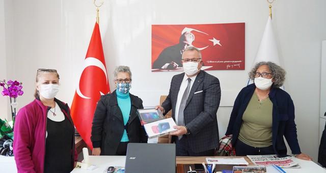 Mandalya Çevre Platformu'ndan Başkan Yardımcısı İlter'e ziyaret
