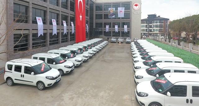 İl Tarım Müdürlüğü'ne 50 yeni araç geldi..