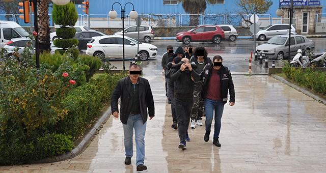 Uyuşturucu operasyonunda 7 tutuklama…