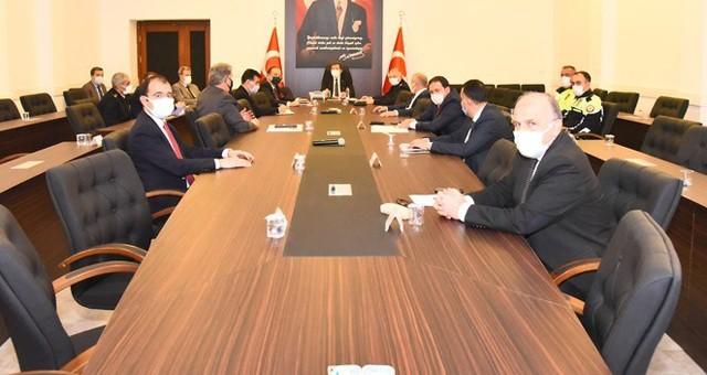 Cumhurbaşkanlığı Bisiklet Turu değerlendirme ve güvenlik toplantısı yapıldı