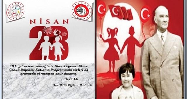 23 Nisan kutlama programı