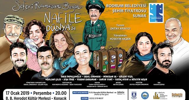 Bodrum Belediyesi Şehir Tiyatrosu 17 Ocak'ta Perdelerini Açıyor