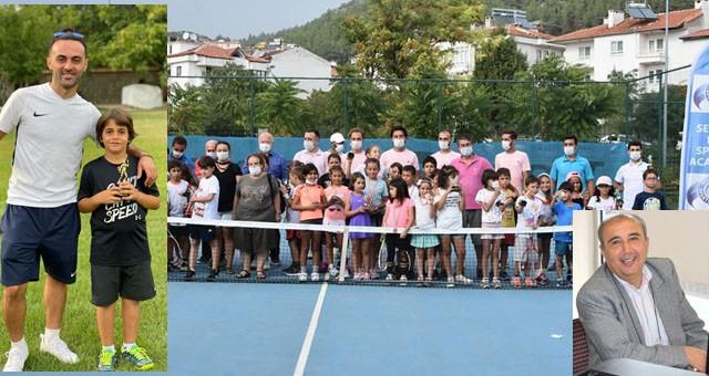 Ekrem Orhan Tenis Turnuvası yapıldı