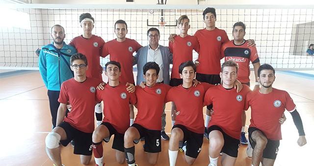Milas Belediyespor Voleybolda Grup İkincisi oldu