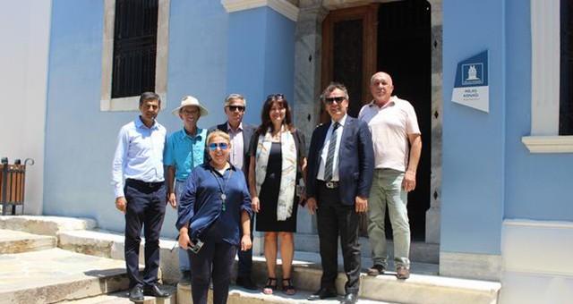 Yunanistan'ın İzmir Başkonsolosu Argyro Papoulia'dan MİTSO'da dostluk ve işbirliği çağrısı: