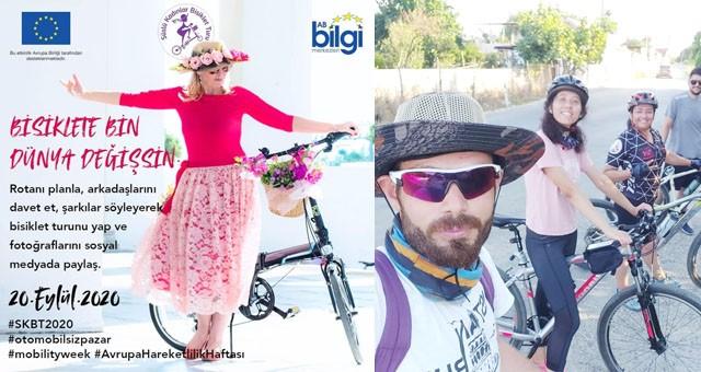 Süslü Kadınlar Bisiklet Turu