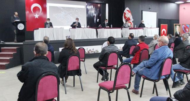 Milas OSB'de üyeler bilgilendirildi