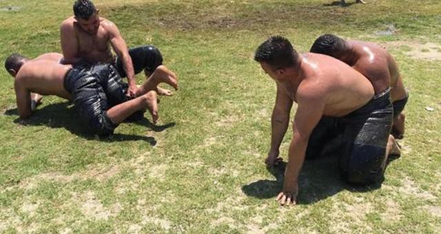 Yağlı Güreşlere Hazırlanıyorlar