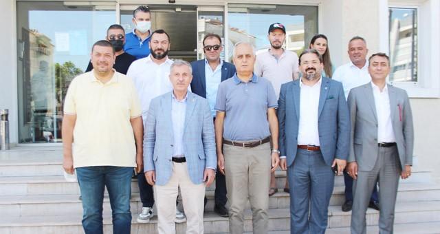 Gelecek Partisi Genel Başkan Yardımcısı MİTSO'da...