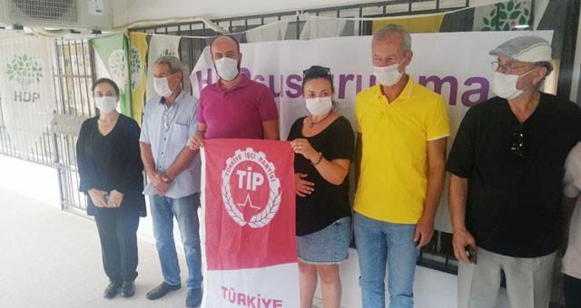 HDP'ye dayanışma ziyareti..