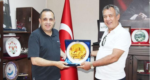 Bolu Ticaret ve Sanayi Odası Başkanı Türker Ateş MİTSO'da...  TANITIM İÇİN MİLAS'IN HEKATOMNOS ANITMEZARI, BOLU'NUN ARTEMİSİA BÜSTÜ VAR