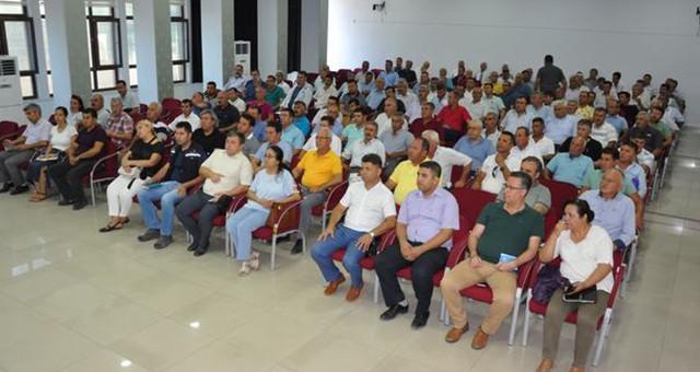 Temmuz ayı muhtarlar toplantısında ana gündem elektrik sorunu oldu…