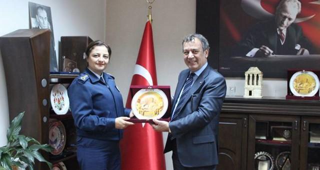 Milas Garnizon Komutanı Albay Emel Demiryakan MİTSO'da...