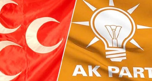 Anketten AKP ve MHP'ye kötü haber
