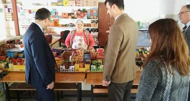 KAYMAKAM ARSLAN ÖREN'DEKİ OKULLARI ZİYARET ETTİ