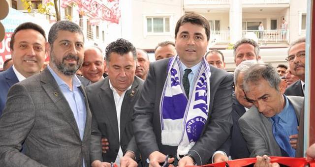 Genel Başkan Uysal, Milas'taki seçim ofisi açılışına katıldı