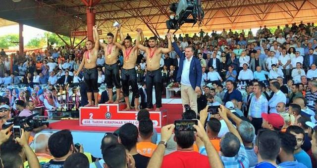 Büyükşehir'in güreşçisi Kırkpınar'da ikinci oldu