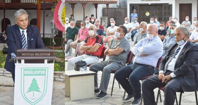 Muğlaspor'da Erol Kapiz güven tazeledi
