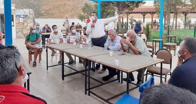CHP, Boğaziçi Mahallesi'nin sorunlarini dinledi