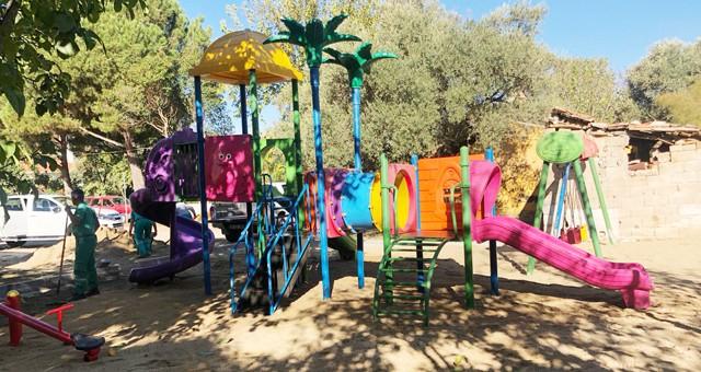 Tuzabat Mahallesi de yeni çocuk parkına kavuştu