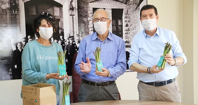 Müdür Saylak'tan Ziraat Odası ve Süt Birliği'ne Çiftçiler Günü ziyareti