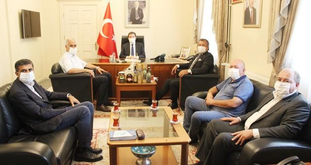 MİTSO, yeni Muğla Valisi Orhan Tavlı'ya hoşgeldiniz dedi ve kutladı